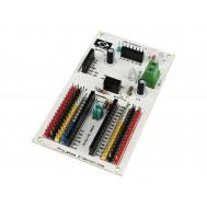 Waldunano V1 Shield para Arduino Nano com Conexão para ESP8266, Bluetooth, Display, Xbee
