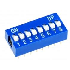 DIP Switch / Chave DIP 8 vias