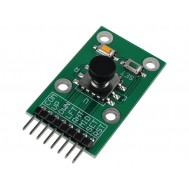 Módulo Joystick para Arduino 5 Eixos / Interruptor Táctil 5 Posições + 2 Botões - JY50