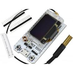 ESP32 LoRa WiFi SX1278 433MHZ de Longo Alcance com Display OLED e Bluetooth