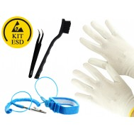 Kit Antiestático ESD Básico - Luva G
