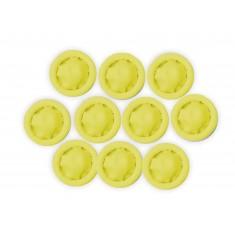 Dedeira de Látex Antiestática / Protetor de Dedo Antiestático - Kit com 10 unidades (Pequena)