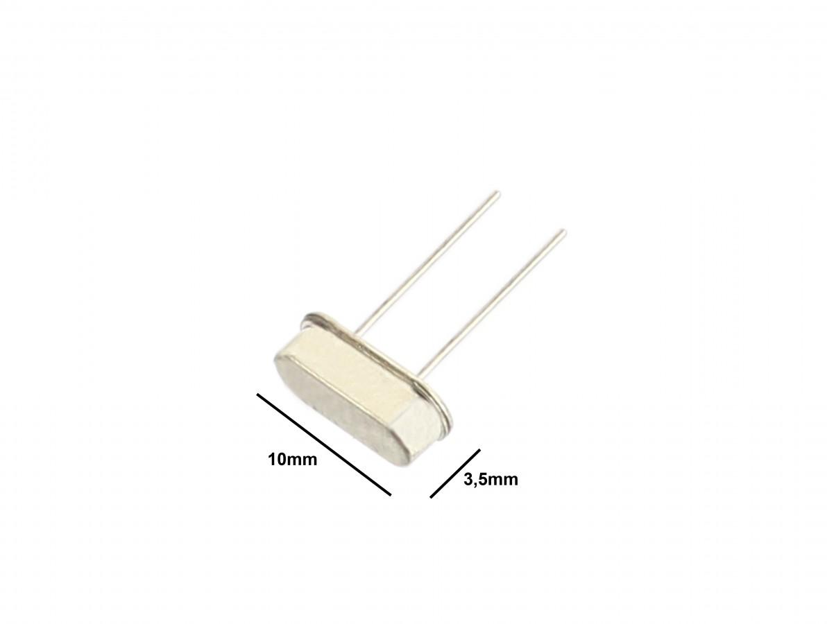 Cristal Oscilador 10MHz para Microcontroladores