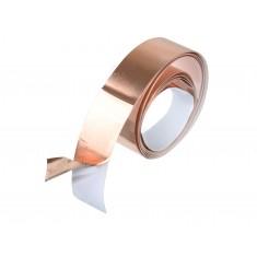 Fita de Cobre Adesiva para Blindagem e Proteção 9mm x 1m