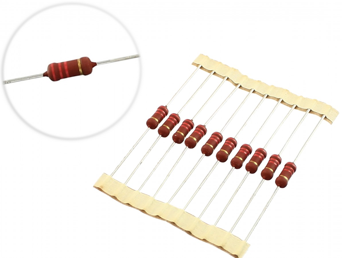 Resistor 2k2 2W - Kit com 10 unidades