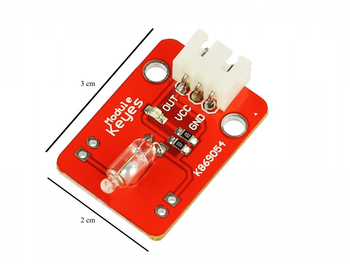 Sensor de Inclinação com Chave em Mercúrio para Arduino