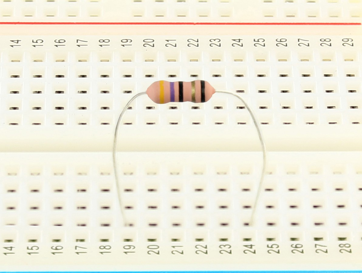 Resistor 47R 1W - Kit com 10 unidades