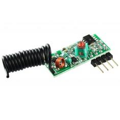 Receptor 433Mhz / Receptor RF com Antena
