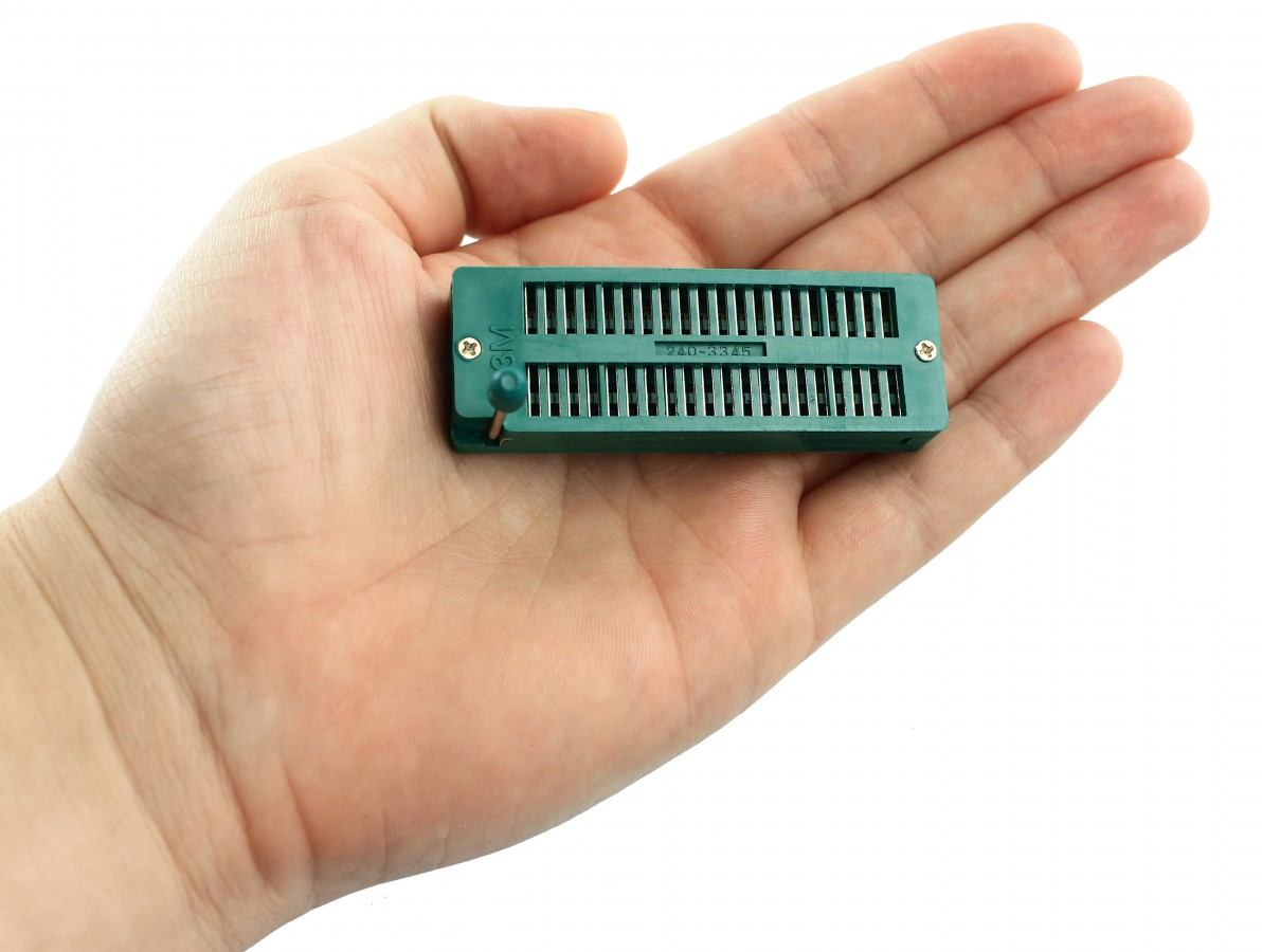 SOCKET ZIF 40 PIN