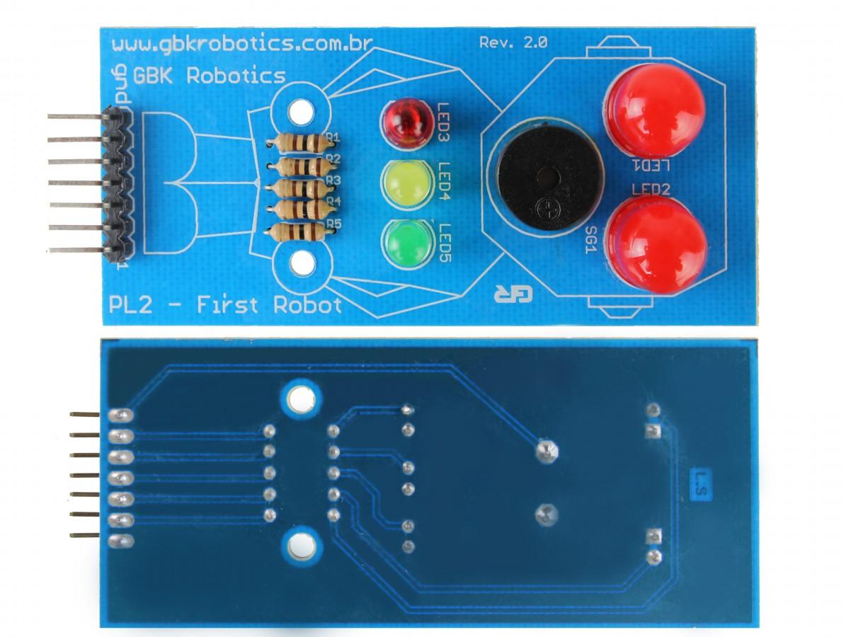 First Robot / Módulo Robô Led para Interação com o Público - PL2