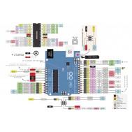 Tabela de Pinos Arduino Uno R3 em Couchê Liso com Alta Resolução