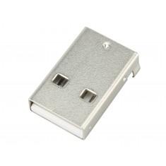 Conector Jack USB Tipo A 2.0 Macho 4 Terminais