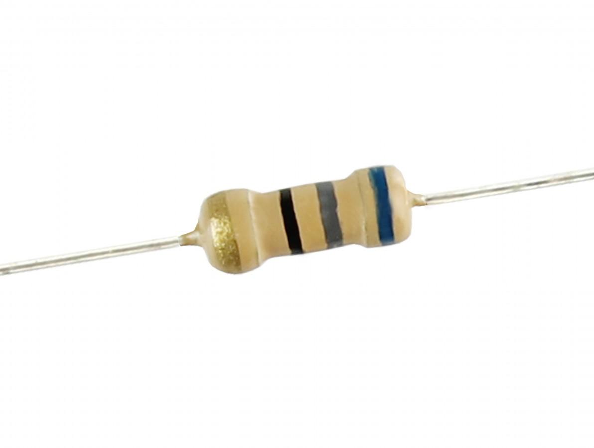 Resistor 68R 1/4 - Kit com 10 unidades