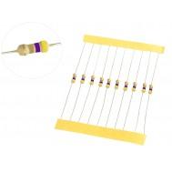Resistor 4R7 1/4W - Kit com 10 unidades