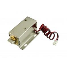 Fechadura Elétrica Solenóide 12V NF para Projetos - FEC-91