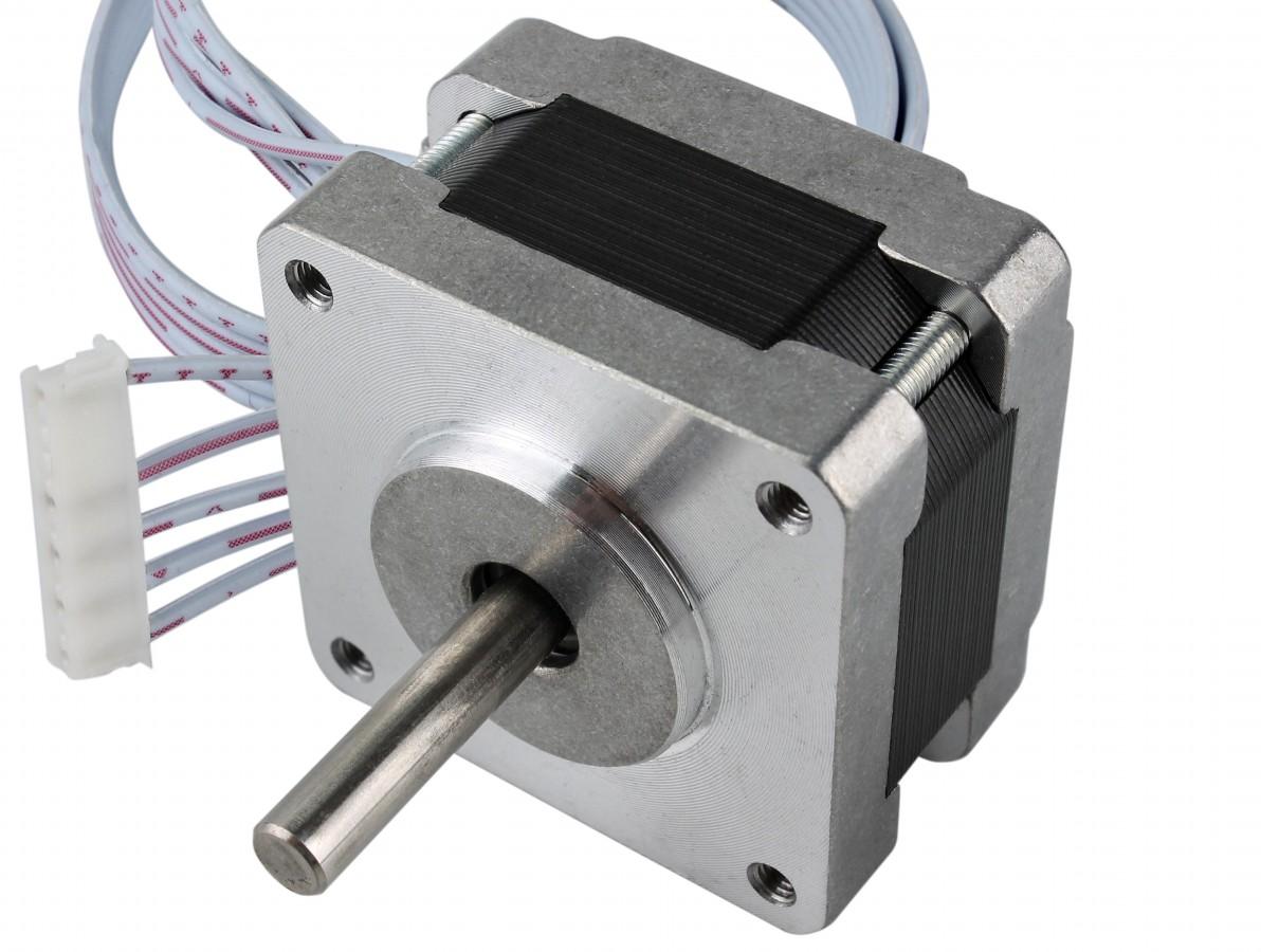 Motor de Passo 12V 0.10Nm para projetos - 39BYG250-22