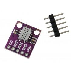Sensor de Qualidade do Ar MICS-6814 / Sensor de Gás Monóxido de Carbono, Dióxido de Nitrogênio, Amônia, Metano e Outros