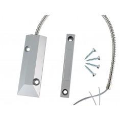 Sensor Magnético de Sobrepor Premium com Fio para Alarme e Automação - HC-55Z