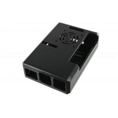 Case para Raspberry Pi 3 Modelo B e B+ em ABS com Local para Cooler - H1