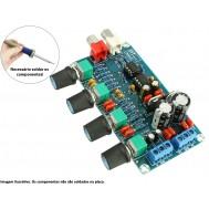 Pré Amplificador Preamp Hi - Fi 10X NE5532 Estéreo DIY - YX1099
