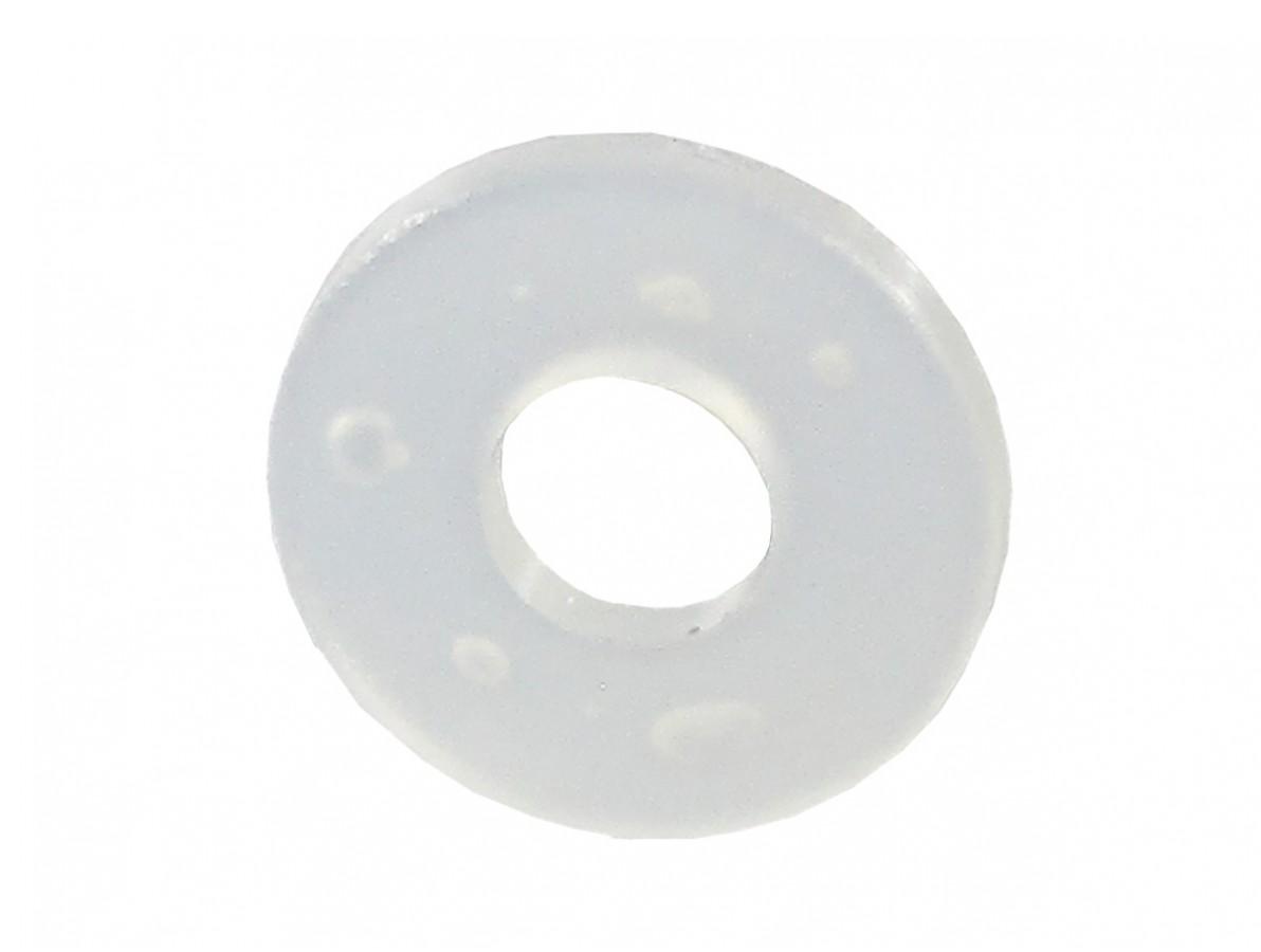 Arruela Plástica em Nylon M3 x 8mm x 1mm - Kit com 10 unidades