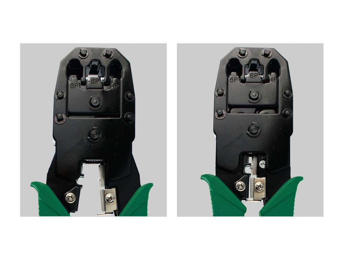 ALICATE ALC01 HYX CRIMPAR RJ11/RJ12/RJ45