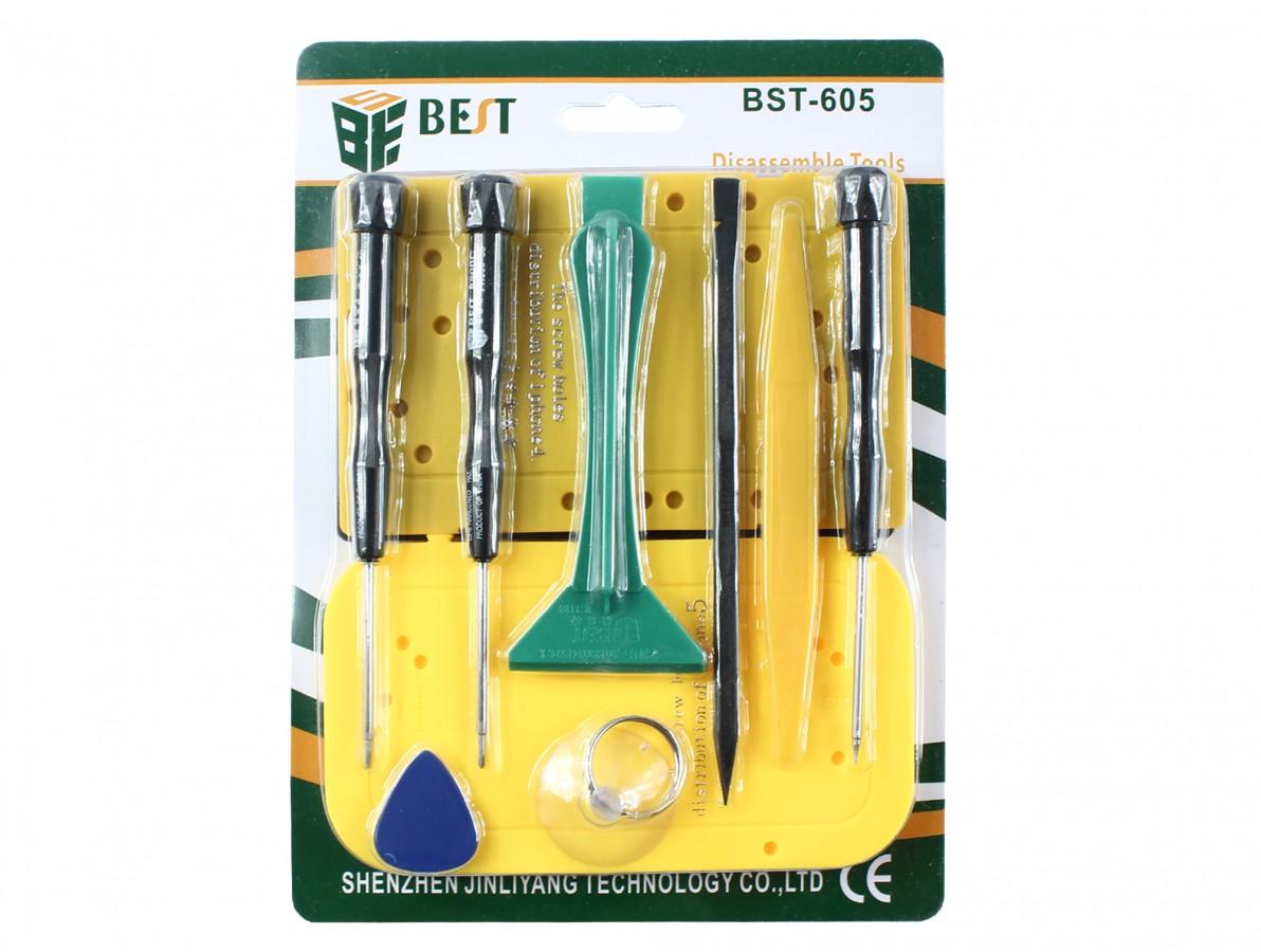 KIT FERRAMENTAS BEST BST-605