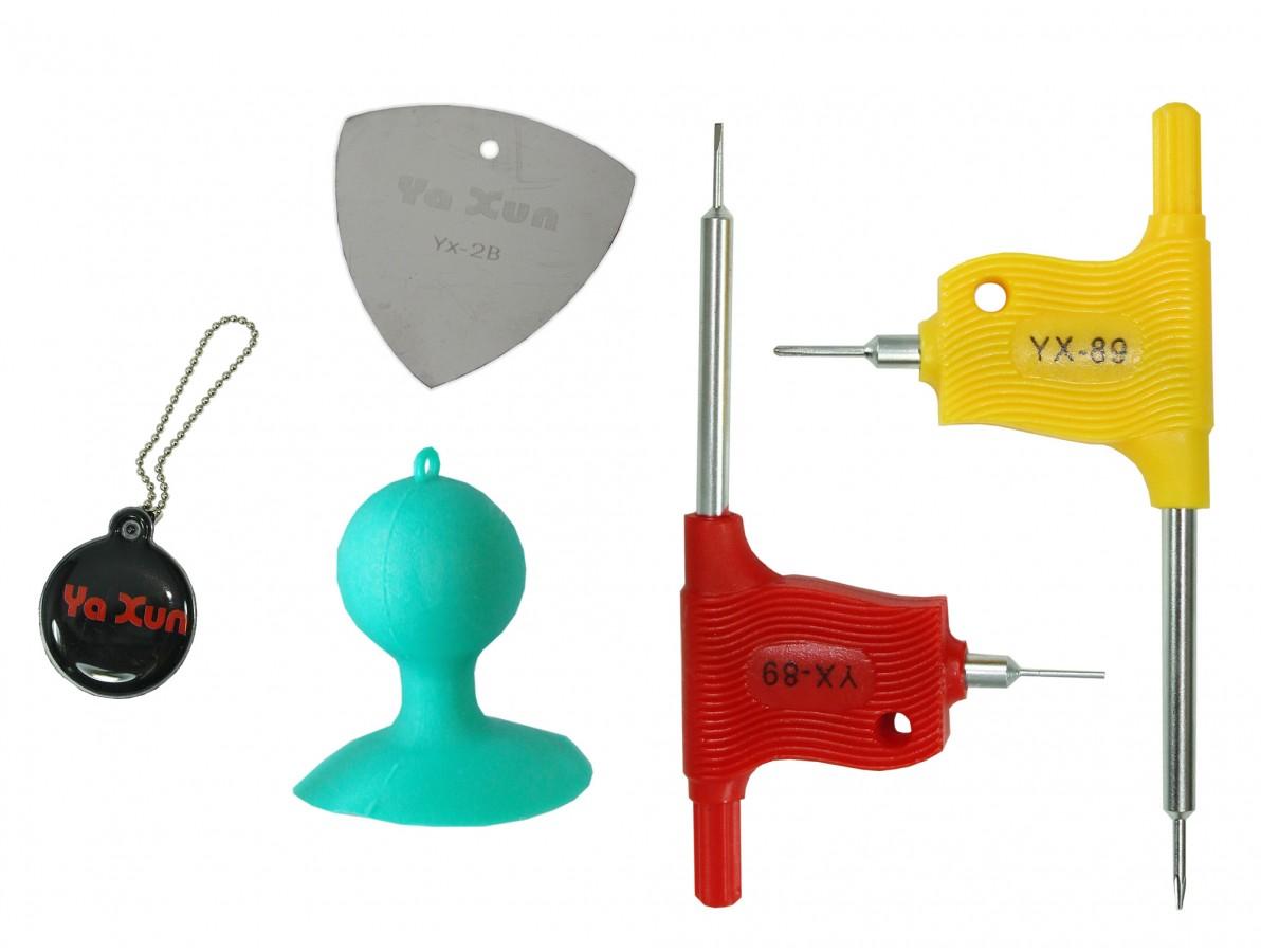 Jogo de Chaves para Desmontagem de iPhone 4 / 4S / 5 e Smartphones - YX680