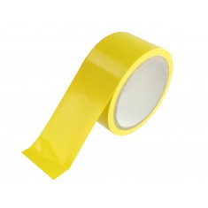 Fita Adesiva para Demarcação Amarela 14 metros - Brasfort