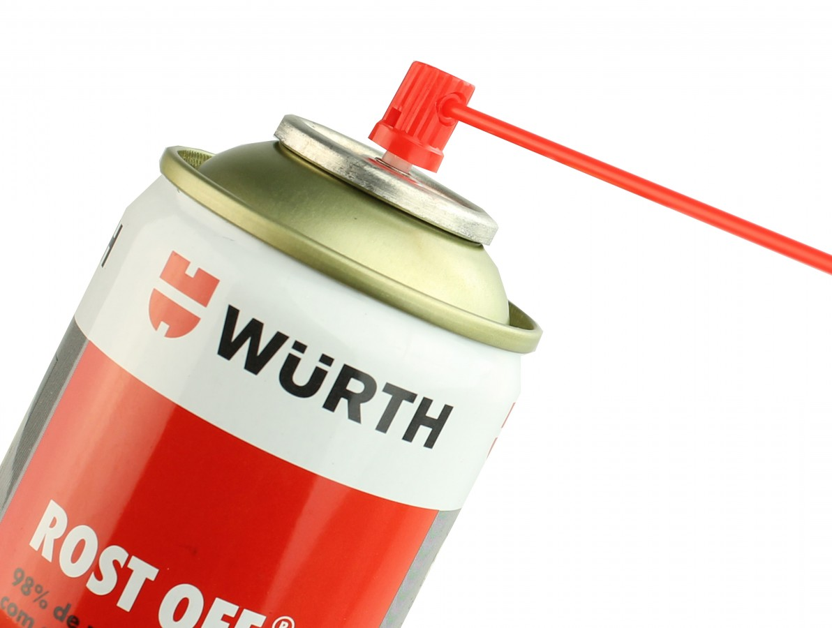 Desengripante, Lubrificante e Anticorrosivo em Spray - Wurth Rost Off