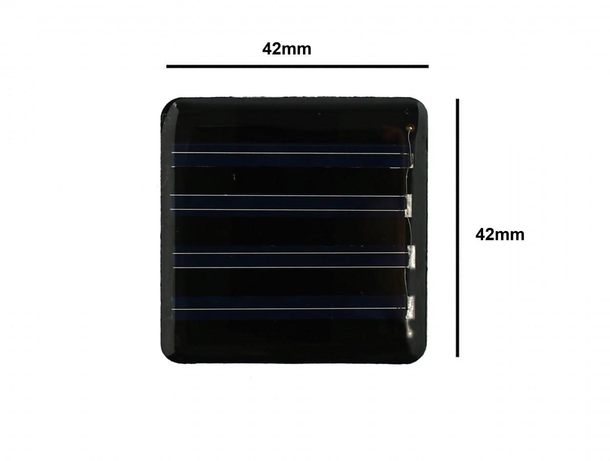PAINEL SOLAR DE CELULA 2V/40MA (42X42MM)