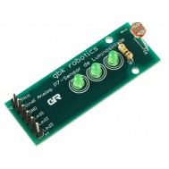Sensor de Luminosidade Fotossensitivo LDR com Leds - P7