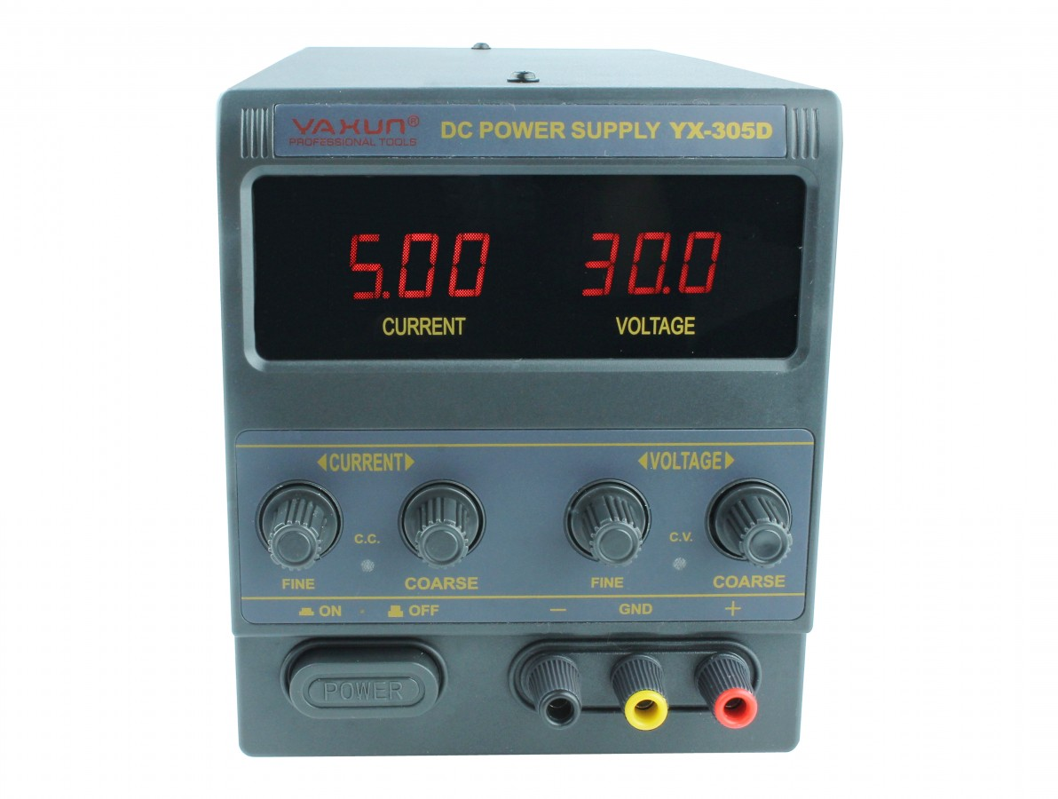 Fonte de alimentação digital regulável 30V 5A - PS 305D Bivolt 110/220V