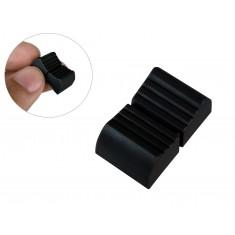 Knob para Potenciômetro Deslizante - Preto