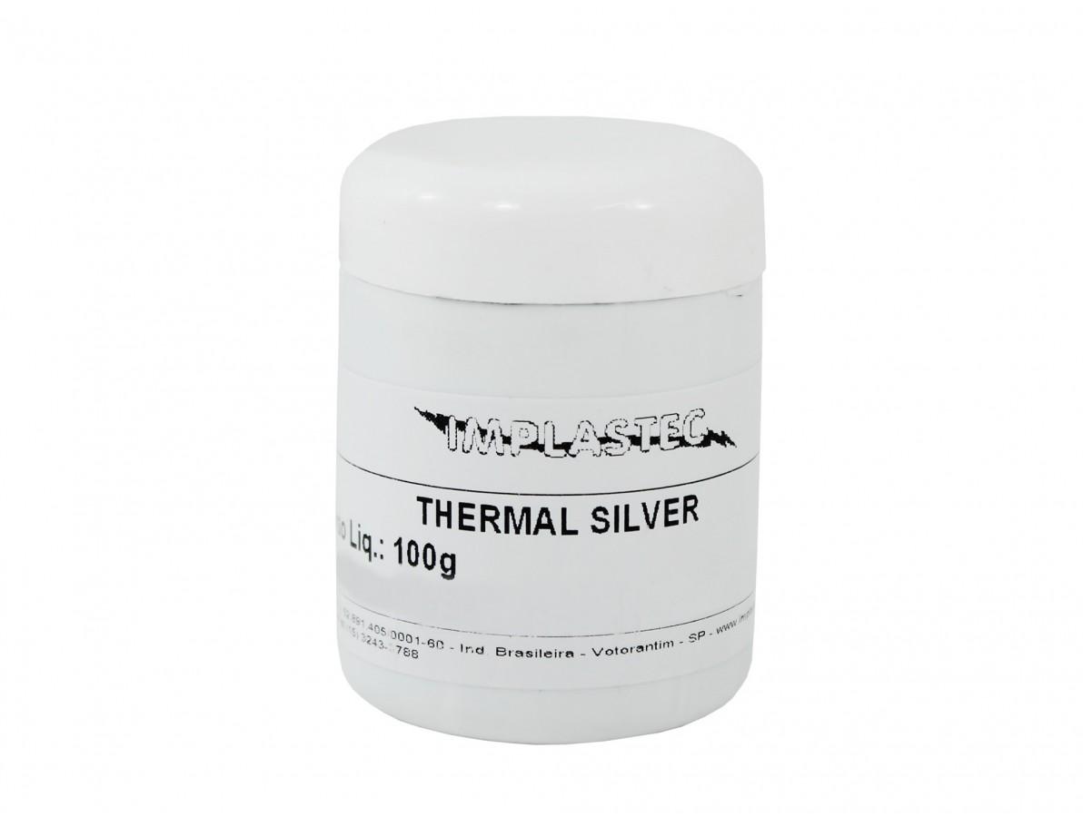Pasta Térmica de Prata / Thermal Silver de Alta Condutividade
