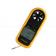 Anemômetro Digital 0 a 90 km/h com Termômetro NTC -10 a 45°C Portátil