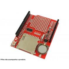Shield Data Logger Arduino com RTC DS1307 para Registro de Dados