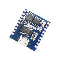 Módulo MP3 DY-SV17F com Memória 4 MByte I/O UART 5W