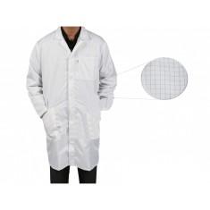 Jaleco / Avental Antiestático ESD Branco - Tamanho M