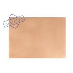 Placa de Fenolite Cobreada Simples 20x25 cm para Circuito Impresso