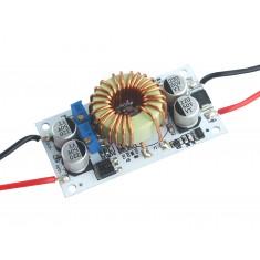 Conversor Dc Dc Step Up Regulador de Tensão e Corrente Ajustável - 10 a 50V / 0.2 a 8A