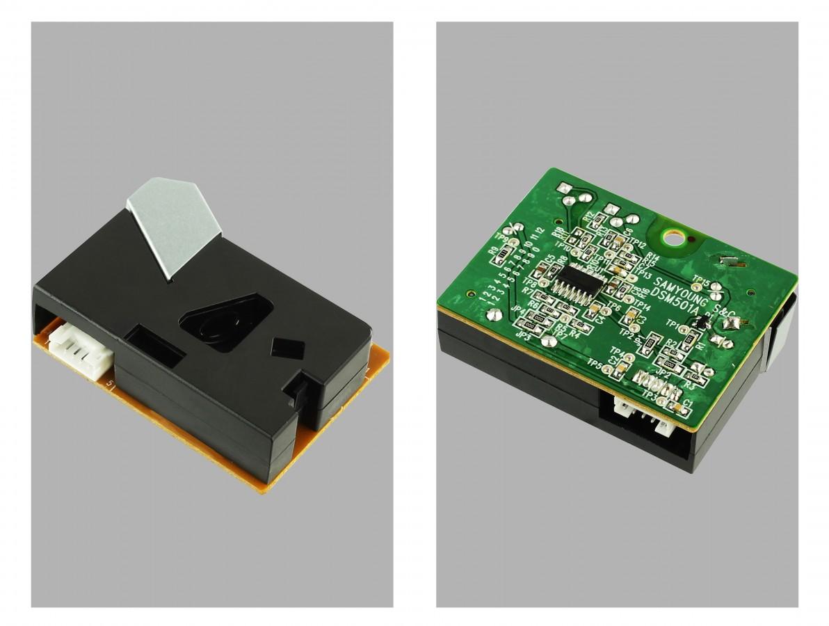 Sensor Detector de Fumaça e Poeira para Arduino - DSM501A