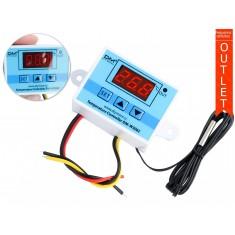 Termostato Digital W3002 -55°C a 110°C com NTC e Relé 1500W 110V/220VAC - Outlet
