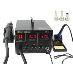 Estação de Solda e Retrabalho Digital Hikari ESD Safe - HK-701X 220V