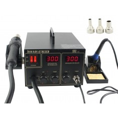 Estação de Solda e Retrabalho Digital Hikari ESD Safe - HK-701X 127V