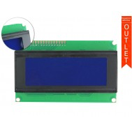 Display LCD 20x4 com Fundo Azul - Outlet
