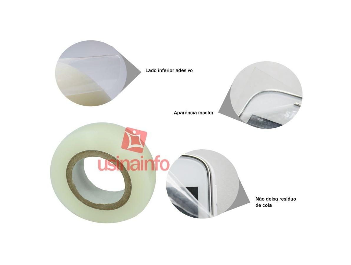 Película de Proteção para Telas e Peças Frágeis 40mm - Rolo com 200 metros