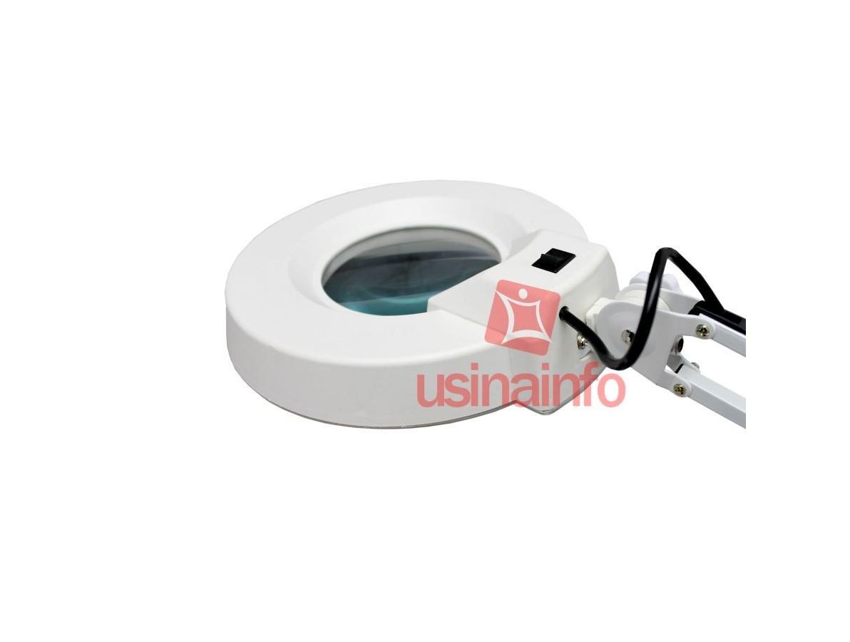 Lupa de Bancada com Iluminação e Aumento 8D - Yaxun ML8