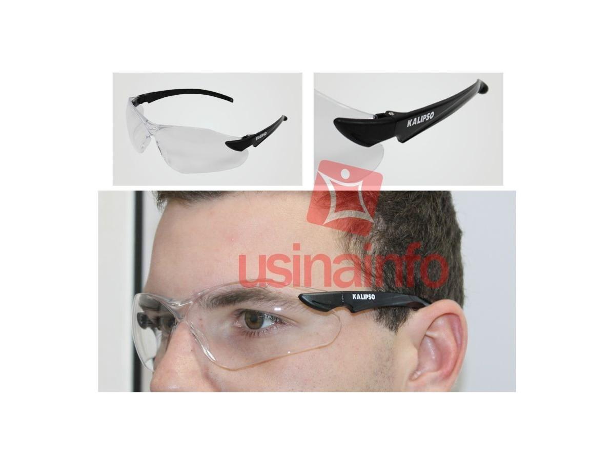 Óculos de Proteção e Segurança Incolor - Modelo Guepardo - Kalipso