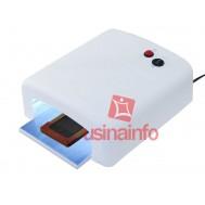 Lâmpada Ultravioleta / Estufa UV para secagem de cola no processo de troca de telas - 36W 220V
